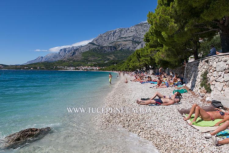 Beach Kamena in Tučepi