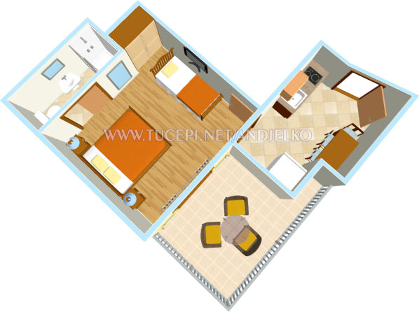 apartment's plan