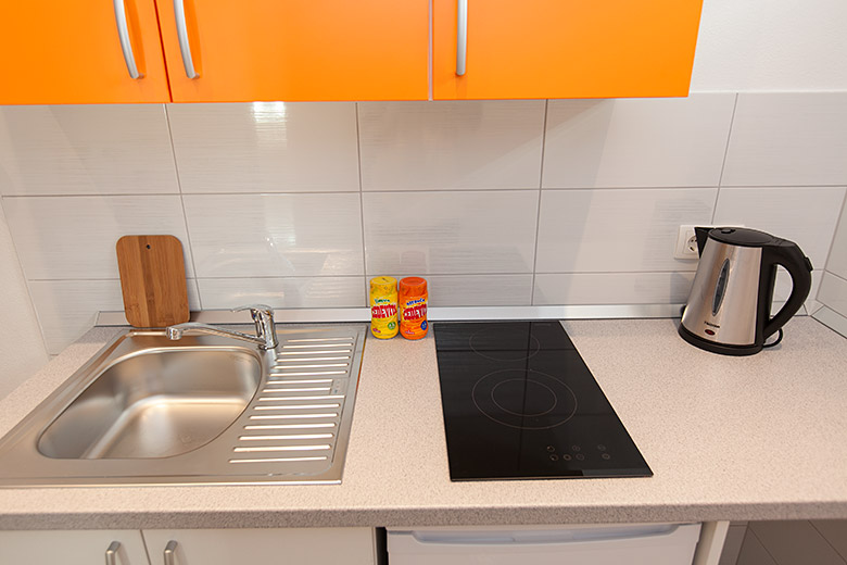 kitchen, cooktop, water bolier