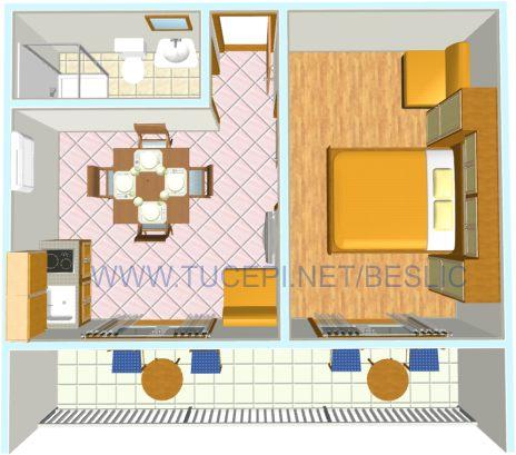 Appartement Plane