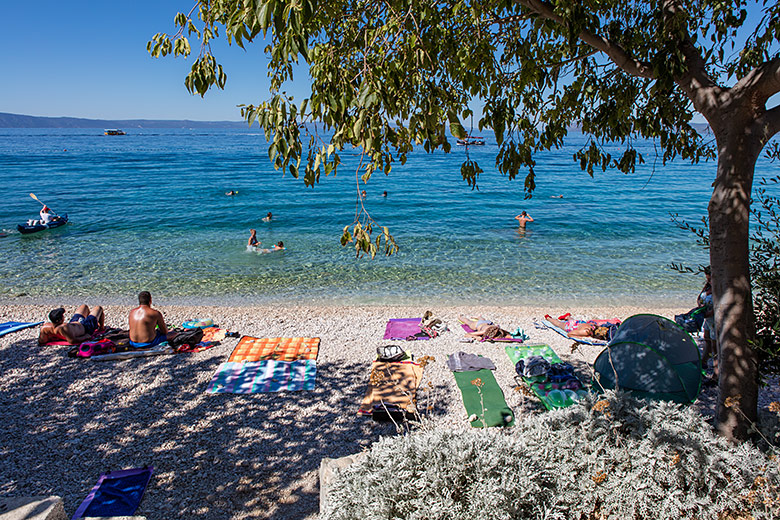 beach in Tučepi Kraj