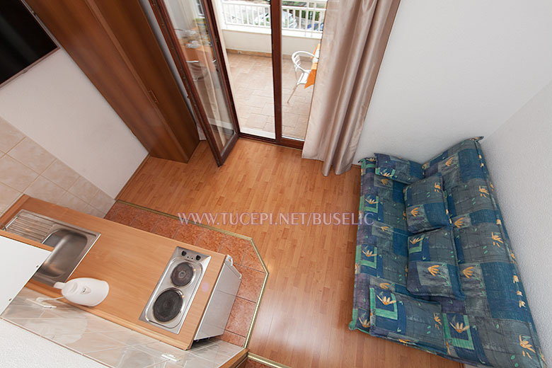 Apartments Bušelić, Tučepi - living room