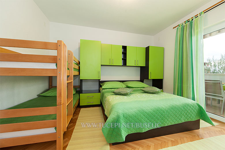 Apartments Stipe Bušelić, Tučepi - bedroom