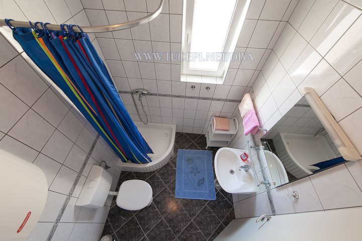 bathroom - top view
