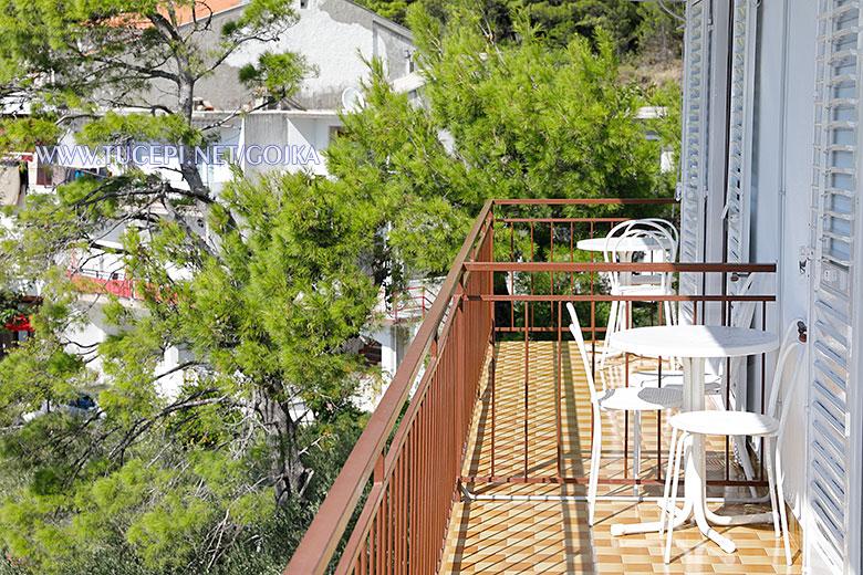 Apartments Gojka, Tučepi - balcony