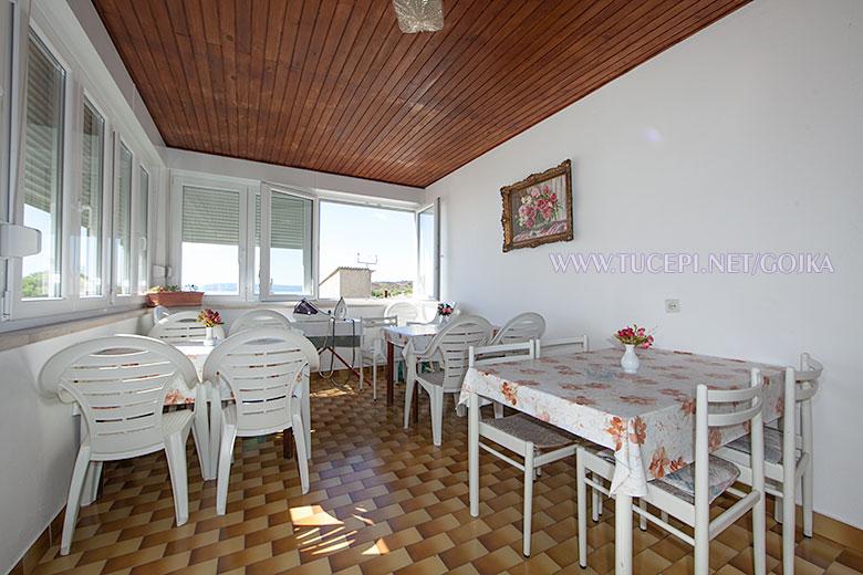 Apartments Gojka, Tučepi - veranda