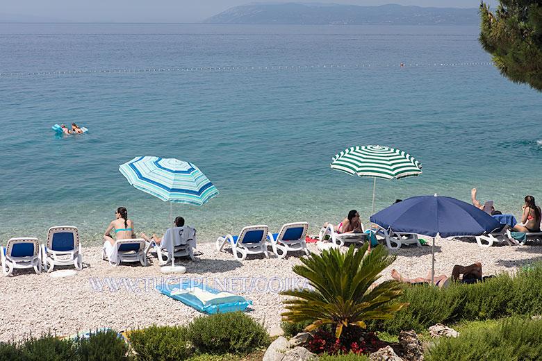 beach Ratac and Dračevice in Tučepi