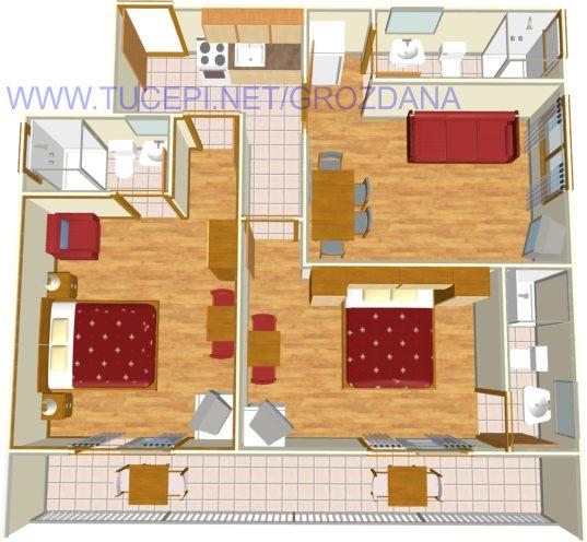 floor plane - Wohnung Plan