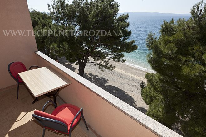 balcony with sea view - Balkon mit Meerblick