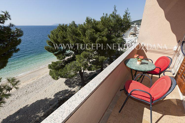balcony with seaview - Balkon mit Meerblick