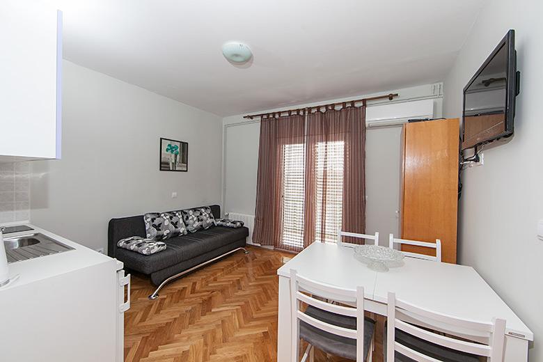 panorama of apartment's interior