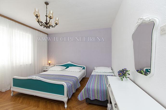 first bedroom in apartment Irena, Tučepi