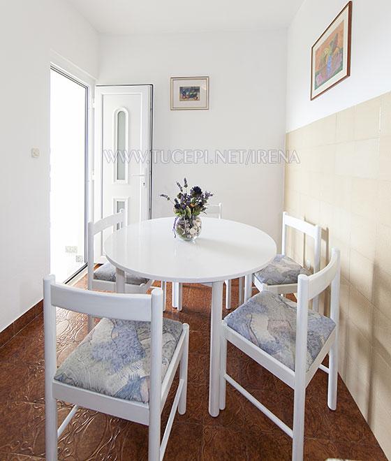dining room in apartment Irena, Tučepi, Croatia