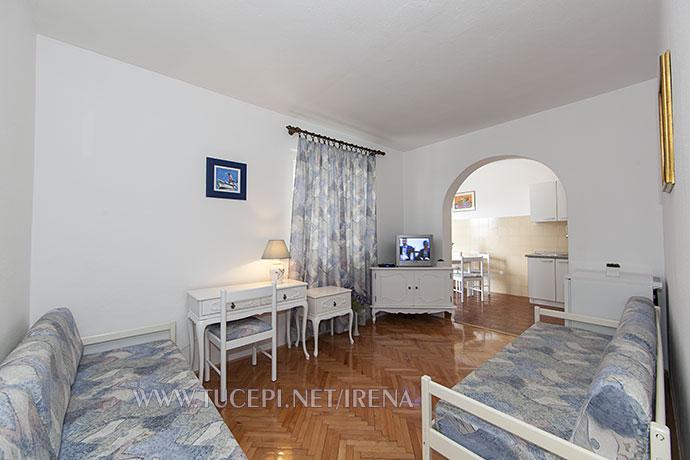 living room in apartment Irena, Tucepi