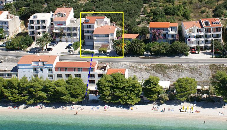 Apartments IRENA Čović - Tučepi