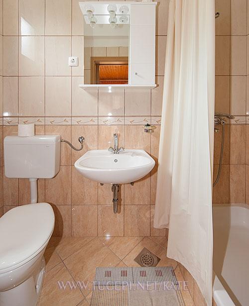zweite Badezimmer