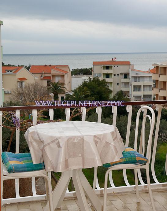 apartments Villa 750, Tučepi - balcony