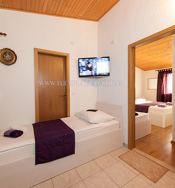apartments Luketina, Tučepi - additional bed