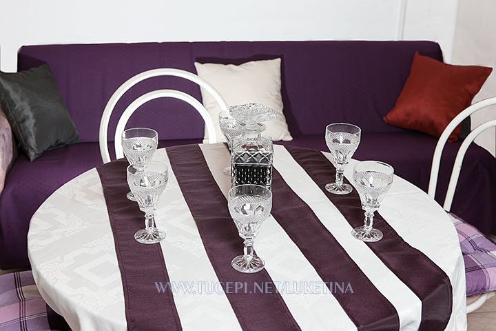 apartments Luketina, Tučepi - glasses and drink on the table