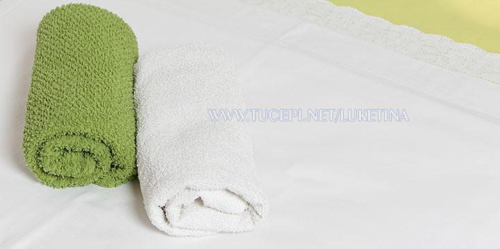 apartments Luketina, Tučepi - towels on the bed