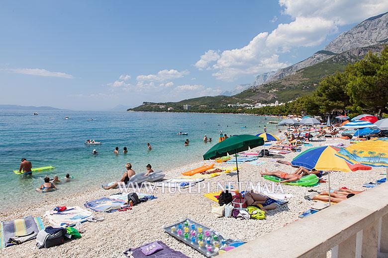 Beach Donji Ratac - Tučepi (Tucepi)