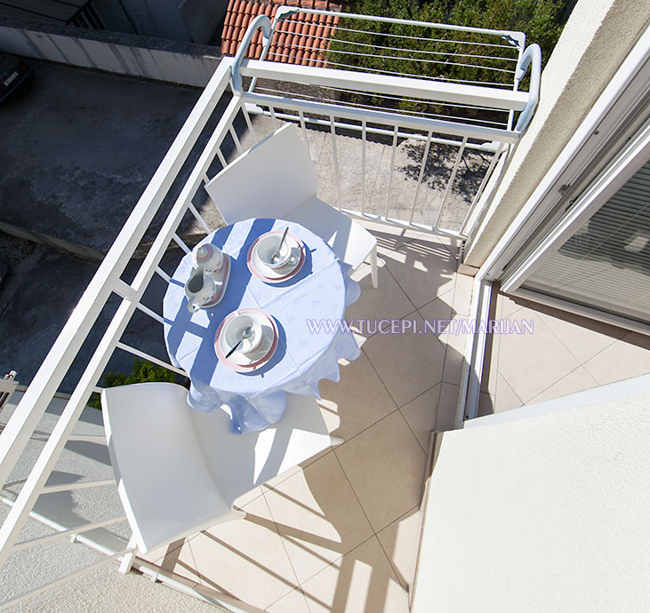 Apartments Marijan, Tučepi - balcony