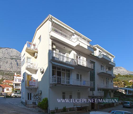 Apartments Marijan Čović, Tučepi - house