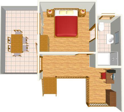 second floor - level