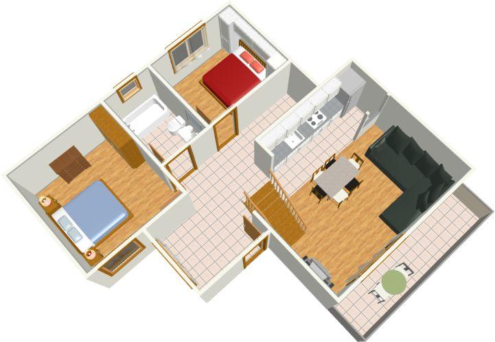 first floor - level
