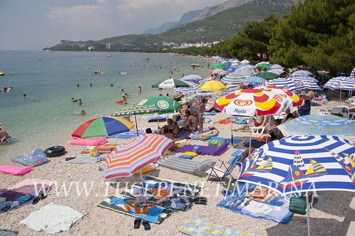 Beach Donji Ratac in Tučepi