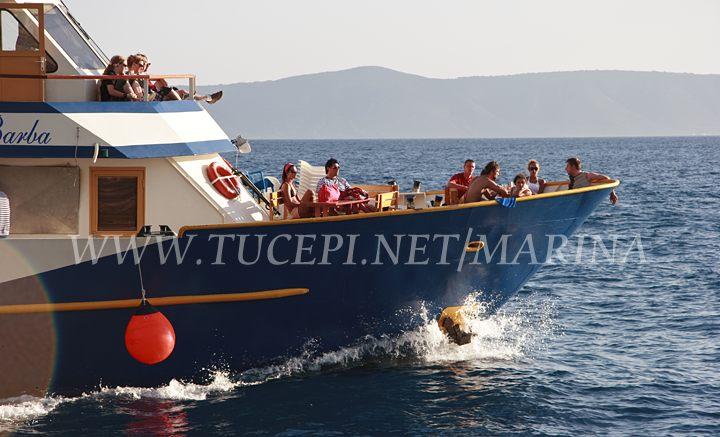 Boat excursion on island Brač and Hvar