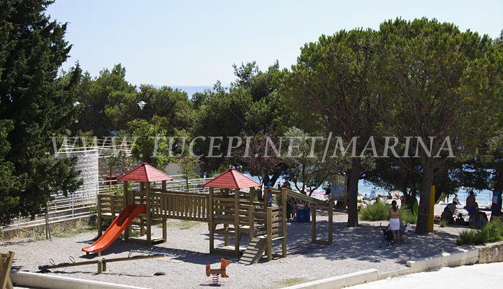 Children playground at hotel Afrodita