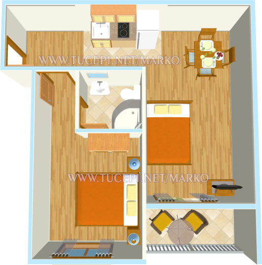 apartment's plan