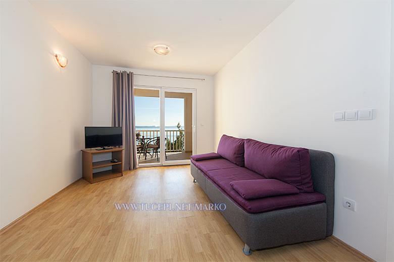 apartments Marko, Tučepi - living room