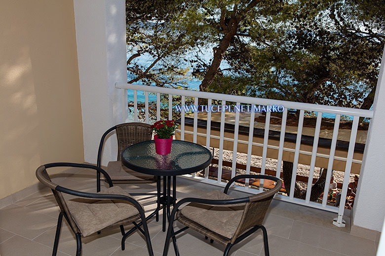 apartments Marko, Tučepi - sea view from balcony