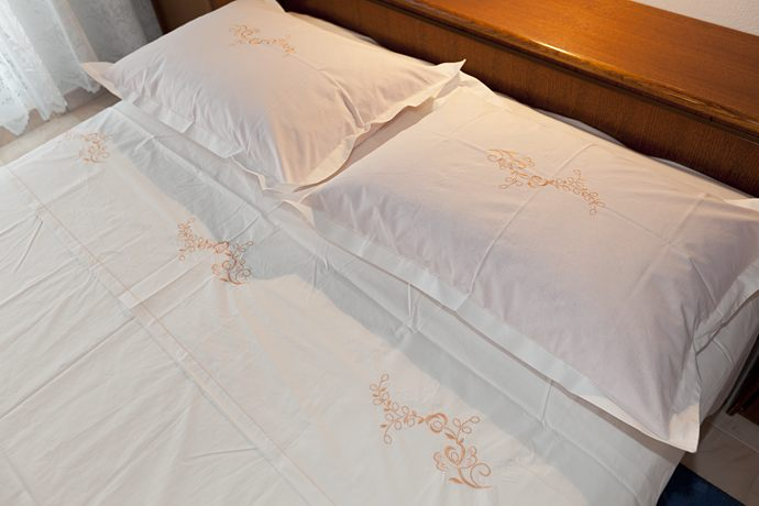 bed linen - closer look