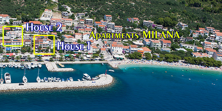 Apartments Milana house