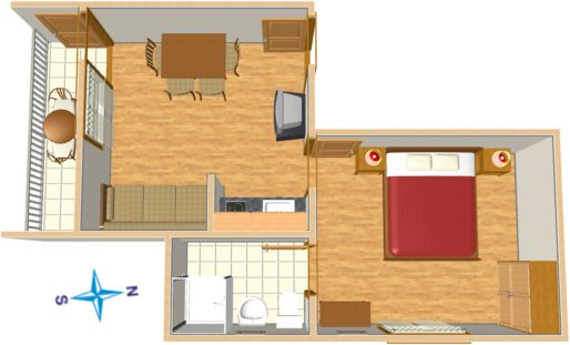 Appartement Plan - floor plane