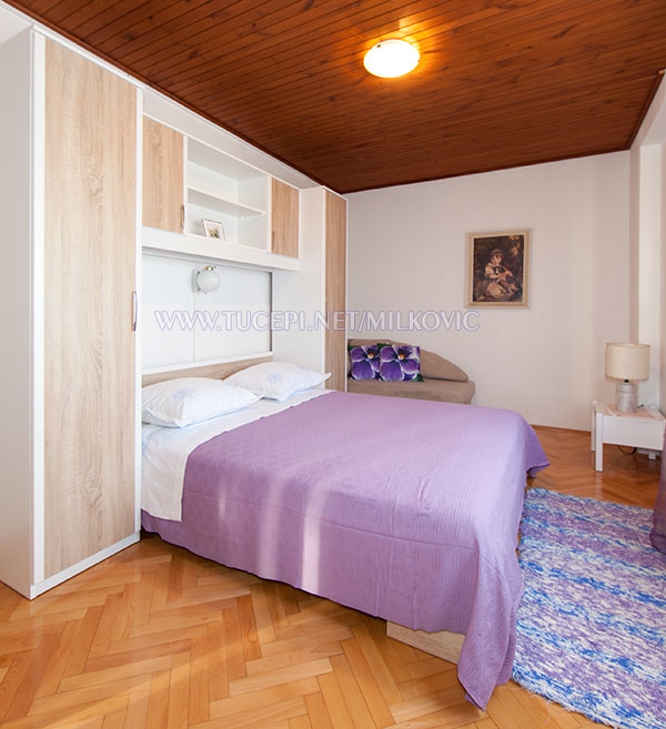 apartments Milković, Tučepi - bedroom