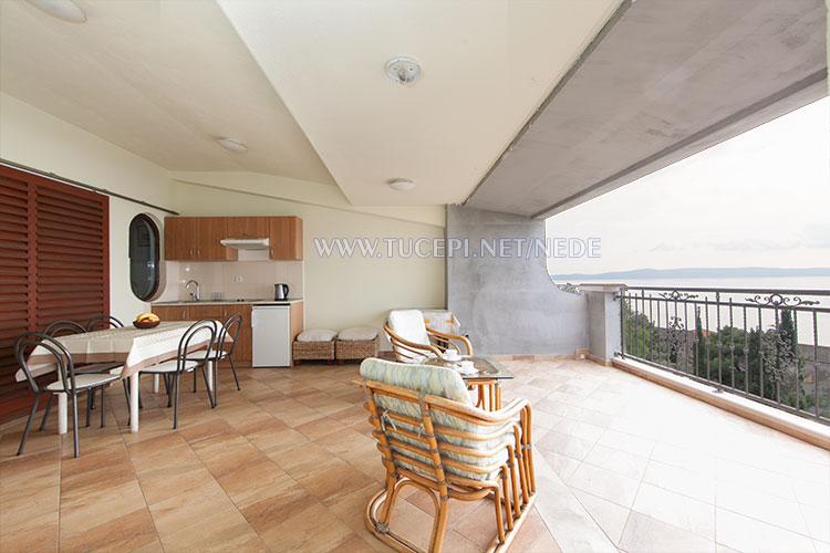 apartments Nede, Ante Grubišić, Tučepi - terrace