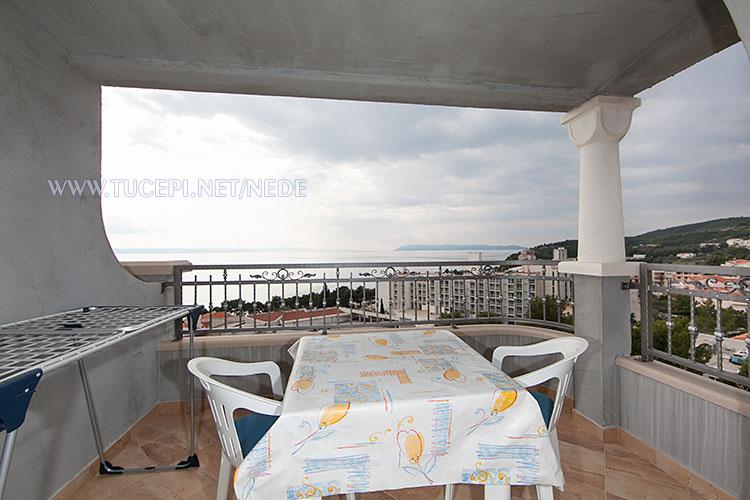 apartments Nede, Ante Grubišić, Tučepi - balcony