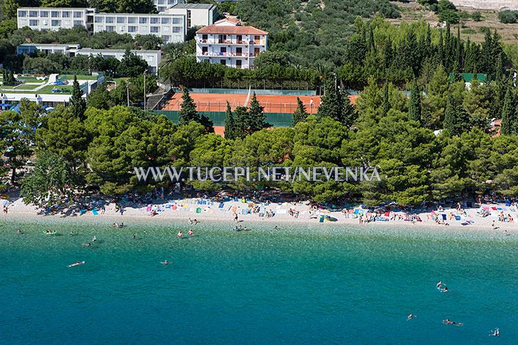 beach Slatina in Tučepi