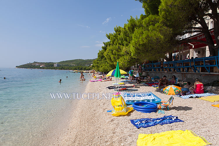 beach Ratac in Tučepi