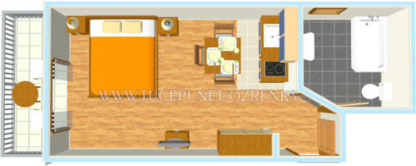 apartment's plan - Wohnung Plan