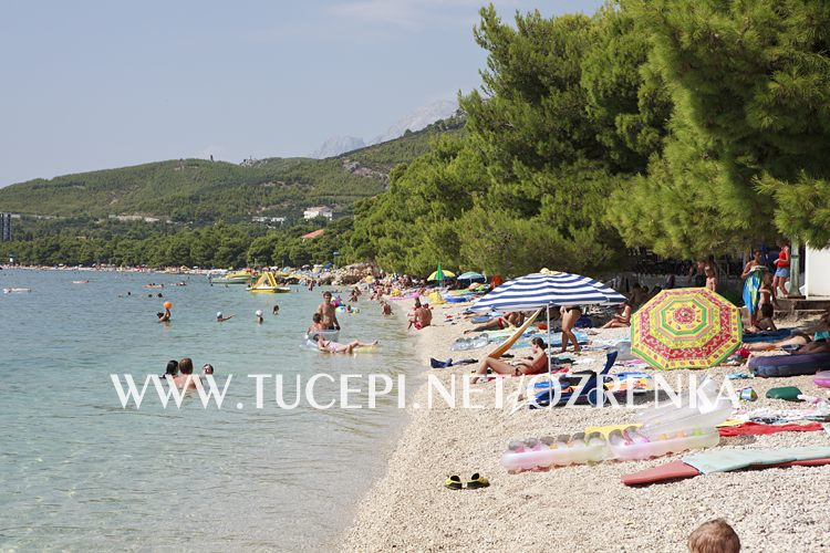 beach Ratac, Tučepi