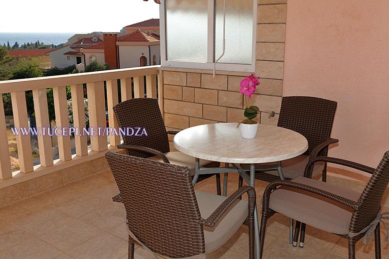 apartments Pandža, Tučepi - terrace