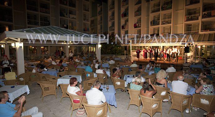 night show at hotel Alga