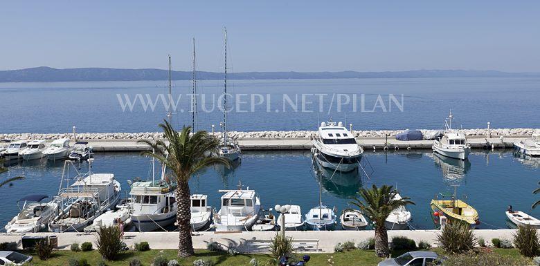 panoramic view on Tučepi marine