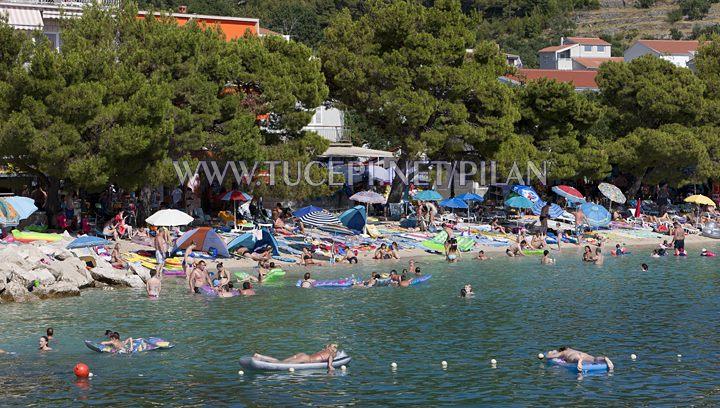 Beach Kraj in Tučepi
