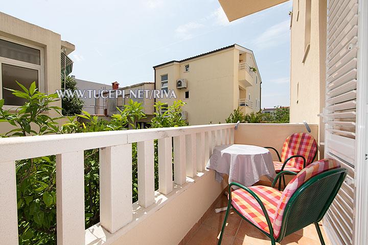 Tučepi, apartments Marija Mijačika - balcony on east side